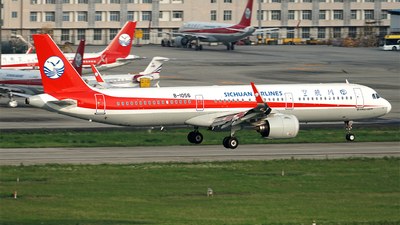 A picture of B1056 - Airbus A321271N - Sichuan Airlines - © ECO707