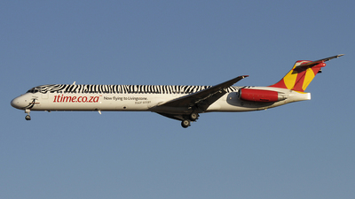 ZS-SKB - McDonnell Douglas MD-83 - 1Time Airline