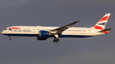 A picture of GZBKN - Boeing 7879 Dreamliner - British Airways - © RJL