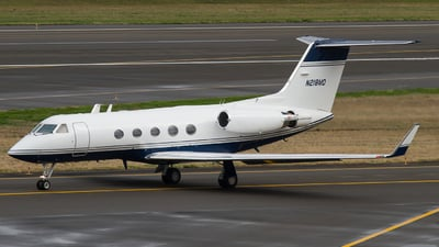 A picture of N218MD - Gulfstream III - [467] - © Russell Hill