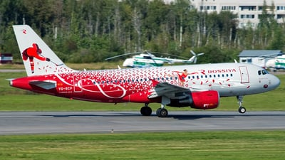 VQ-BCP - Airbus A319-111 - Rossiya Airlines