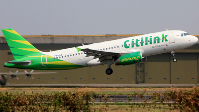 PK-GLE - Airbus A320-232 - Citilink
