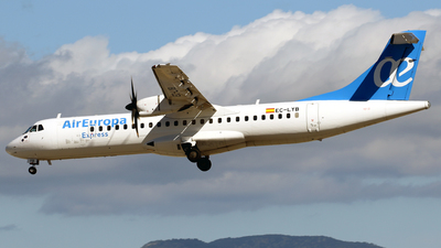 EC-LYB - ATR 72-212A(500) - Air Europa Express