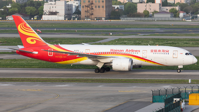 A picture of B2731 - Boeing 7878 Dreamliner - Hainan Airlines - © liang TR