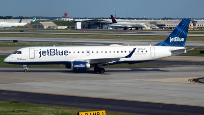 A picture of N206JB - Embraer E190AR - JetBlue Airways - © mariaLXY