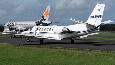VH-WFE - Cessna 560 Citation V - Australian Corporate Jet Centres