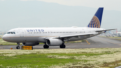 N418UA - Airbus A320-232 - United Airlines