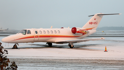 HB-VTJ - Cessna 525 Citation CJ3 - Private