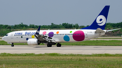A picture of B1592 - Boeing 73786X - 9 Air - © Xiwang