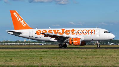 G-EZIH - Airbus A319-111 - easyJet