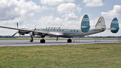 LX-LGY - Lockheed L1649A Starliner - Luxair - Luxembourg Airlines