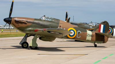 G-HURI - Hawker Hurricane Mk.XII - Private
