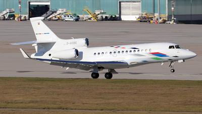 D-AGBE - Dassault Falcon 7X - VW Air Services