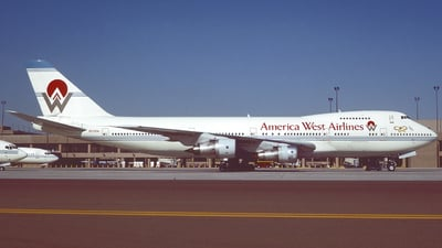 N532AW - Boeing 747-206B - America West Airlines