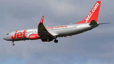A picture of GGDFS - Boeing 73786N - Jet2 - © Nigel Fenwick