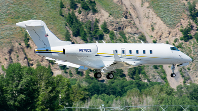 N876CS - Bombardier BD-100-1A10 Challenger 300 - Private