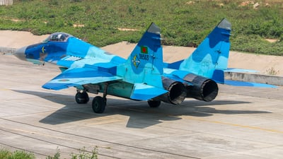 36503 - Mikoyan-Gurevich MiG-29SE Fulcrum C - Bangladesh - Air Force