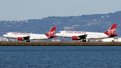 N629VA - Airbus A320-214 - Virgin America