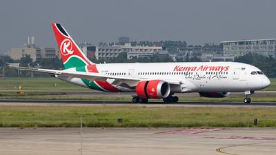 A picture of 5YKZE - Boeing 7878 Dreamliner - Kenya Airways - © Zongzha_Kaiguan