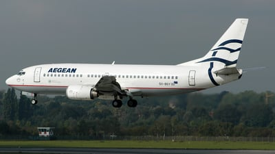 SX-BGY - Boeing 737-31S - Aegean Airlines