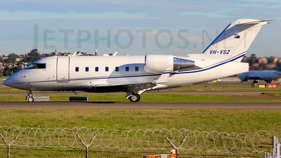 VH-VSZ - Bombardier CL-600-2B16 Challenger 604 - ExecuJet Aviation