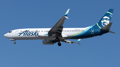 A picture of N593AS - Boeing 737890 - Alaska Airlines - © Yixin Chen