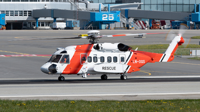 LN-OQS - Sikorsky S-92A Helibus - CHC Norway