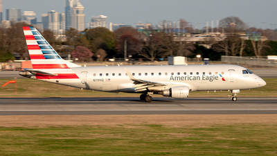 A picture of N119HQ - Embraer E175LR - American Airlines - © Yan777