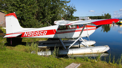 A picture of N9685B - Cessna 180A - [32982] - © C. v. Grinsven