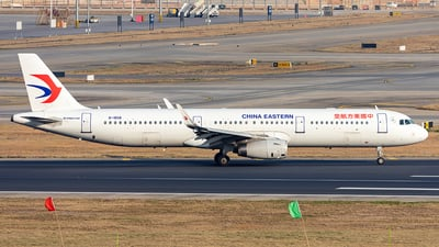 A picture of B1858 - Airbus A321231 - China Eastern Airlines - © Yan Shuai