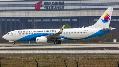 B-1575 - Boeing 737-83Z - Donghai Airlines