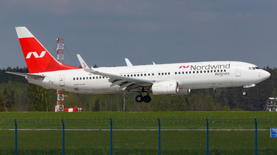 VP-BSQ - Boeing 737-8ME - Nordwind Airlines