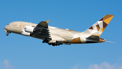 A picture of A6API - Airbus A380861 - Etihad Airways - © srmark