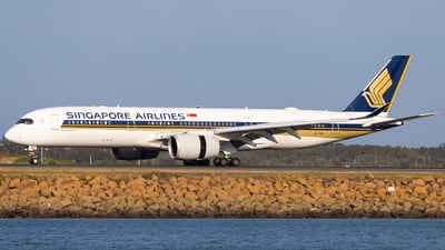 A picture of 9VSMD - Airbus A350941 - Singapore Airlines - © Eric Esots