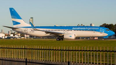 LV-GVC - Boeing 737-887 - Aerolíneas Argentinas
