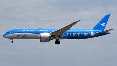 A picture of B1356 - Boeing 7879 Dreamliner - Xiamen Air - © Rocky Wang