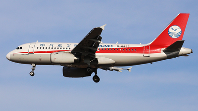 B-6433 - Airbus A319-133 - Sichuan Airlines