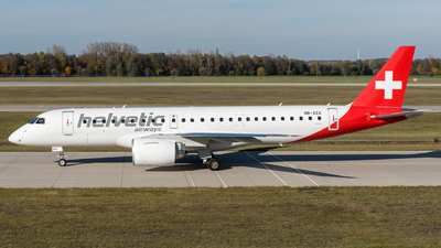 A picture of HBAZA - Embraer E190E2 - Helvetic Airways - © Michael Baumert