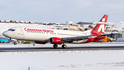 A picture of CFFNM - Boeing 737436 - First Air - © Brian Tattuinee