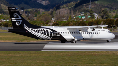 ZK-MVN - ATR 72-212A(600) - Air New Zealand