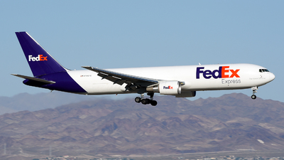 A picture of N146FE - Boeing 7673S2F(ER) - FedEx - © JC