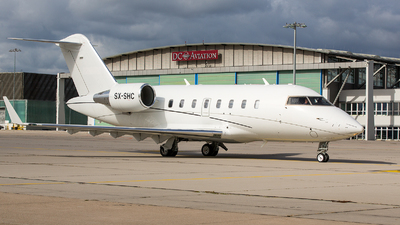 SX-SHC - Bombardier CL-600-2B16 Challenger 605 - GainJet Aviation