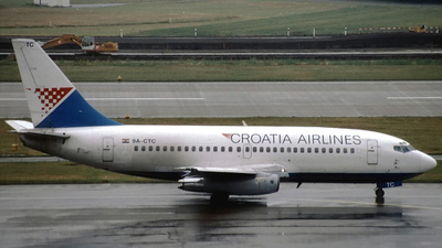 9A-CTC - Boeing 737-230(Adv) - Croatia Airlines