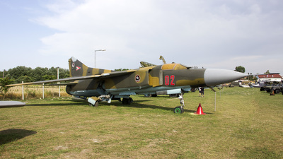 02 - Mikoyan-Gurevich MiG-23 Flogger - Hungary - Air Force