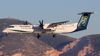 SX-OBB - Bombardier Dash 8-Q402 - Olympic Air
