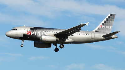 N516NK - Airbus A319-132 - Spirit Airlines