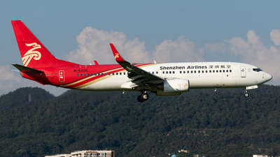A picture of B5322 - Boeing 73786N - Shenzhen Airlines - © Fuxin Ma
