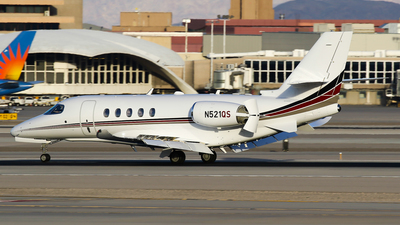 A picture of N521QS - Cessna 680A Citation Latitude - NetJets - © C. v. Grinsven
