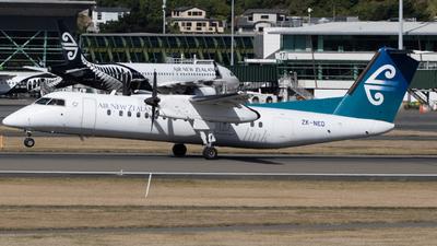A picture of ZKNED - De Havilland Canada Dash 8300 - Air New Zealand - © Orson Downes