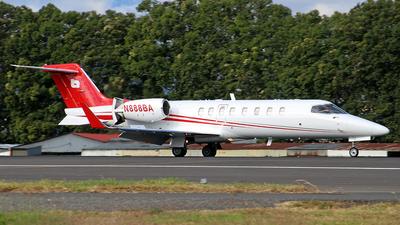 A picture of N888BA - Learjet 45 - [45451] - © César Vielman
